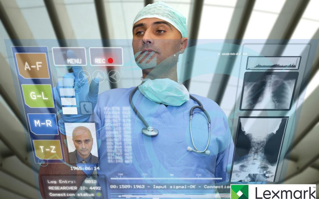 Lexmark je najboljši ponudnik rešitev za upravljanje zdravstvenih vsebin