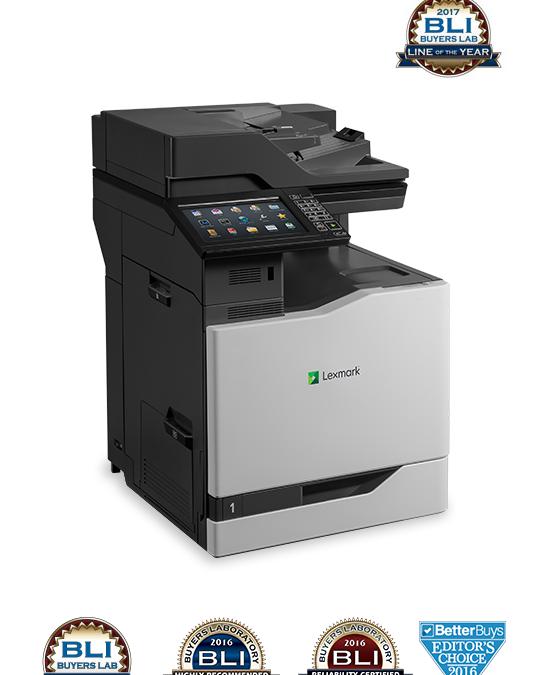 Buyers Lab znova nagradil Lexmarkove barvne tiskalnike in večopravilne naprave