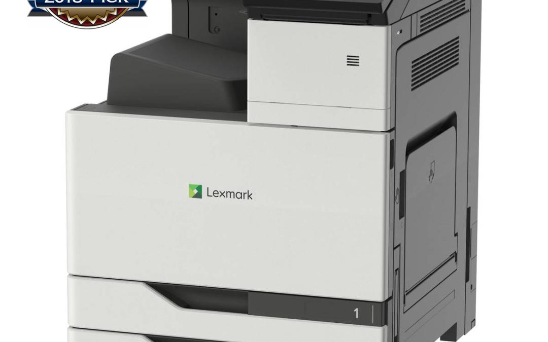 Lexmarkov A3 barvni tiskalnik prvak v poslovnem razredu
