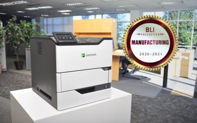 Lexmark prejel nagradi BLI PaceSetter Awards za trgovino in proizvodnjo